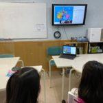 """<span class=""""title"""">英会話Tips 小学生たち、カナダからの生の声を楽しんだ!</span>"""
